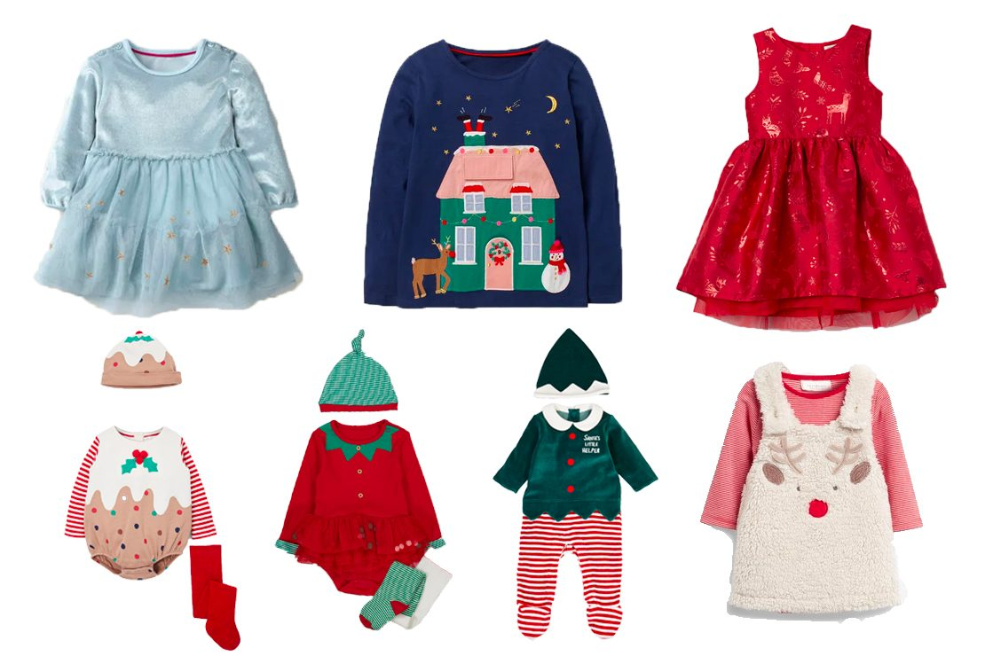 RED Kids Baby Girl Clothes XMAS Santa Claus Party Tulle Dress Outfits UK Stock