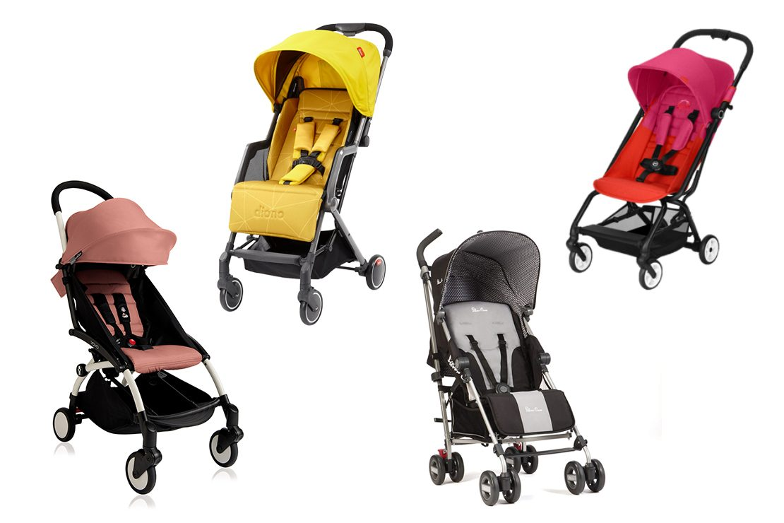 New Lightweight Kids Baby Stroller Pushchair With Umbrella Travel Pram Compact