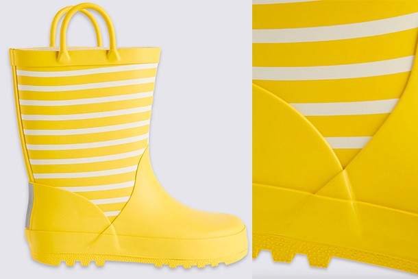 m and s wellies