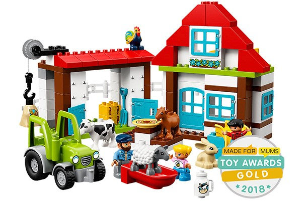 Toys For 3 Year Olds 1 LEGO Duplo Farm Adventures 5499