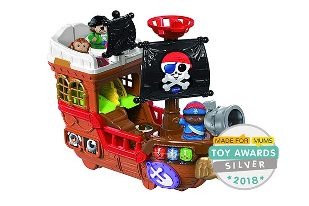 toot toot pirate ship