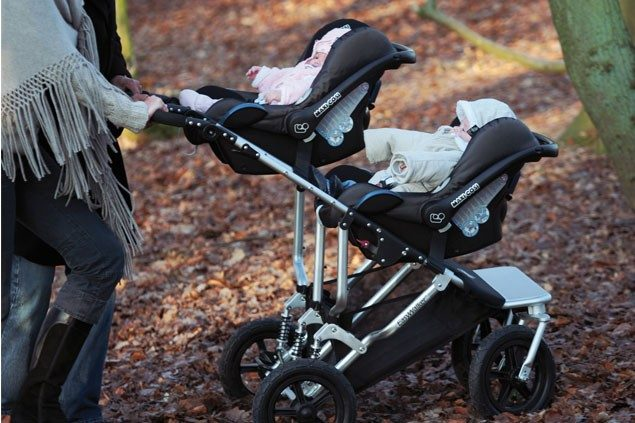 Car Seat //Double Buggy //Carrycot Twin Universal Raincover For Buggy //Pushchair