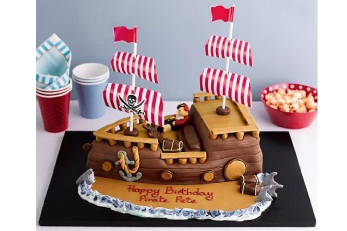 MS Pirate Ship Cake GBP45