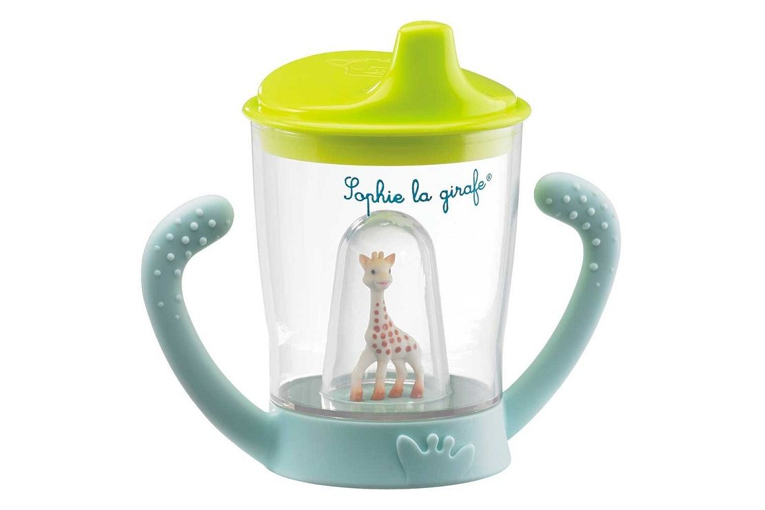 Feeding 2019 Latest Design Sophie The Giraffe Non Spill Cup Great Varieties Bottle Feeding