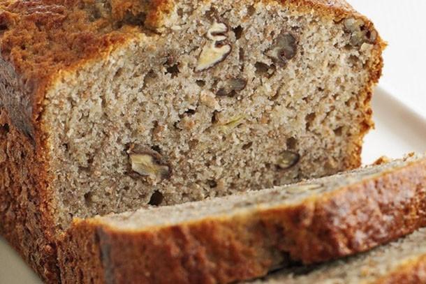 olive banana bread loaf