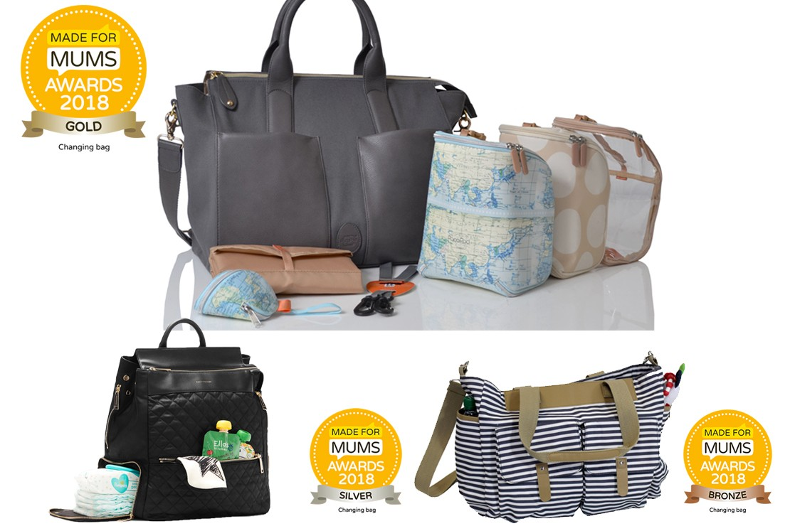 Award-winning baby changing bags to buy for 2019 - MadeForMums a240c50d22718
