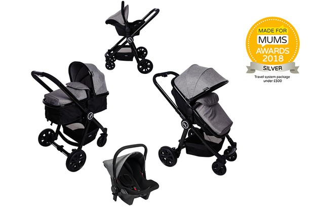 Red Kite Push Me Fusion Complete Travel System