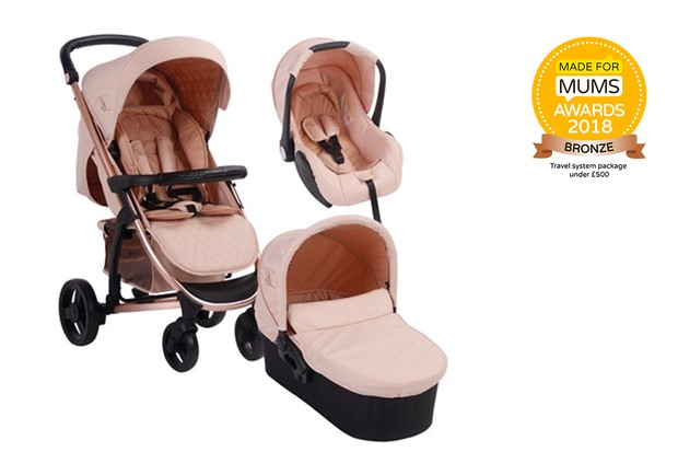 y Babiie MB200+ Complete Travel System