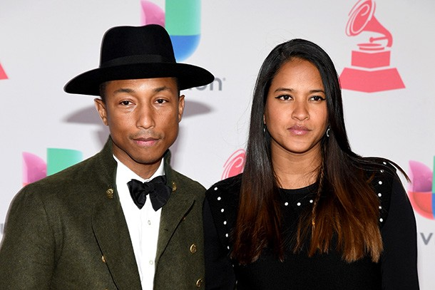 pharrell and wife