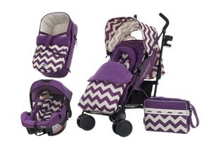 Obaby Zeal 3in1 Travel System