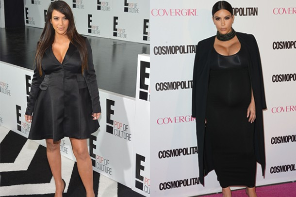 0cdd4155b72d8 How Kim Kardashian's maternity style has improved the second time ...