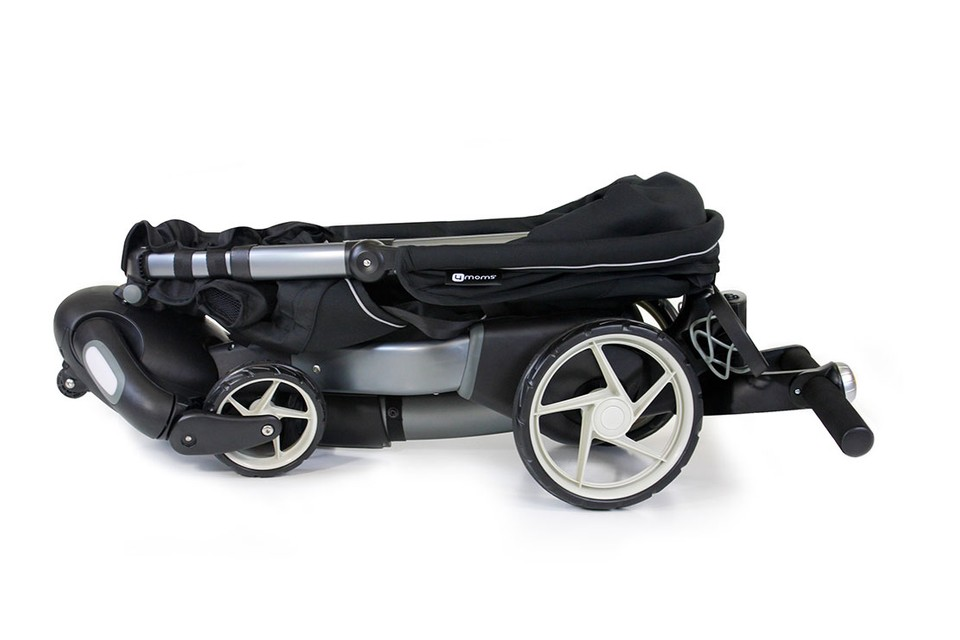 4moms 4 Moms Origami Power Folding Automatic Stroller Silver for ... | 640x960