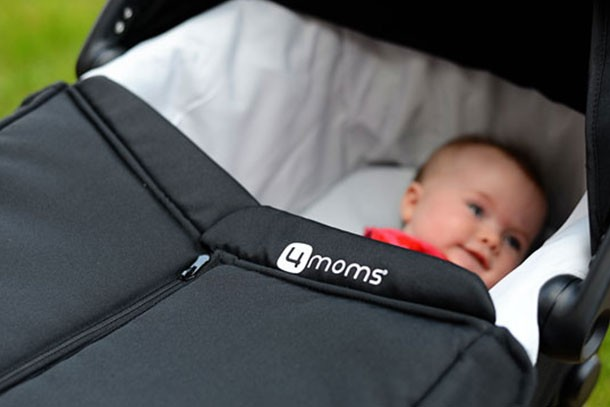 Strollers go way high-tech with the Origami stroller from 4Moms ... | 407x610