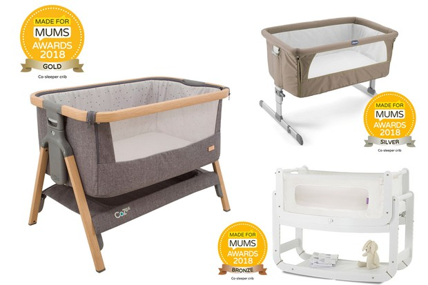 Award Winning And Safe Co Sleeping Bedside Cots And