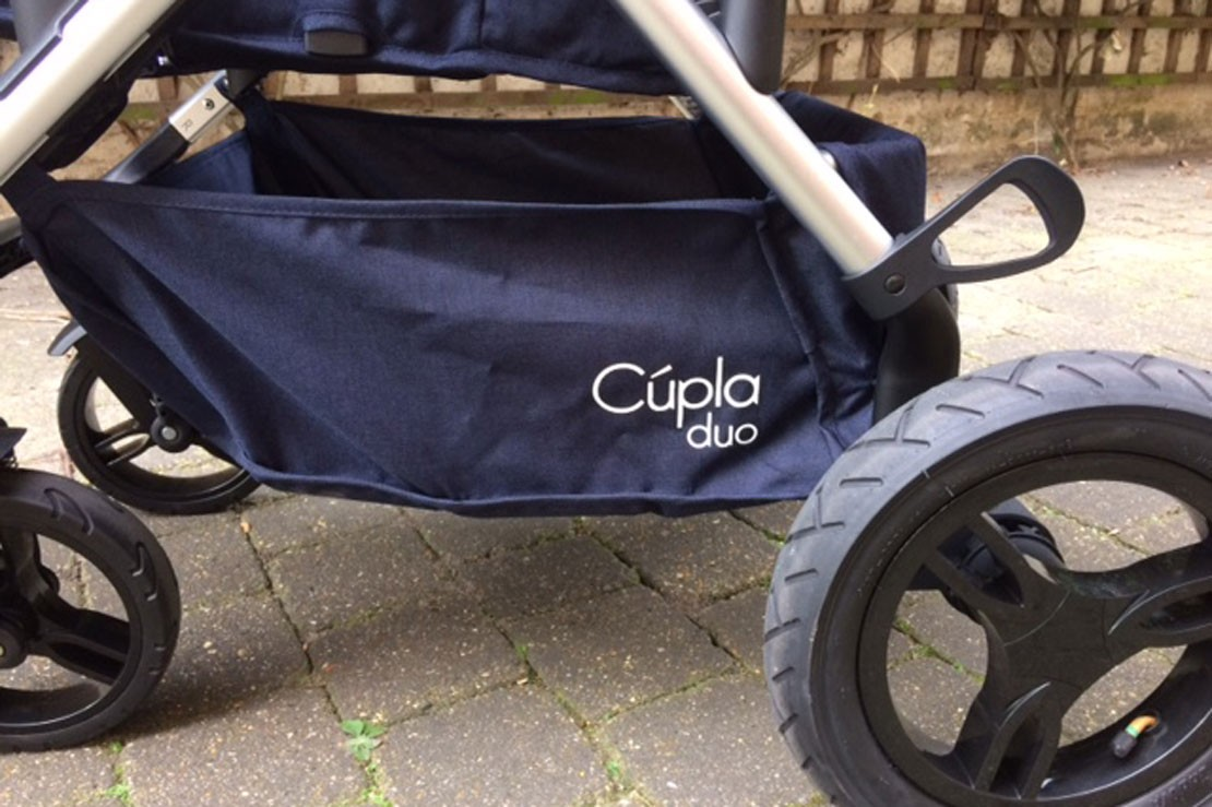 Baby Elegance Cupla Duo shopping basket