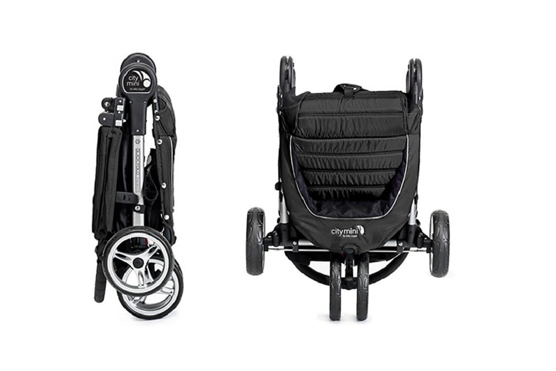 Baby Jogger City Mini is compact when folded