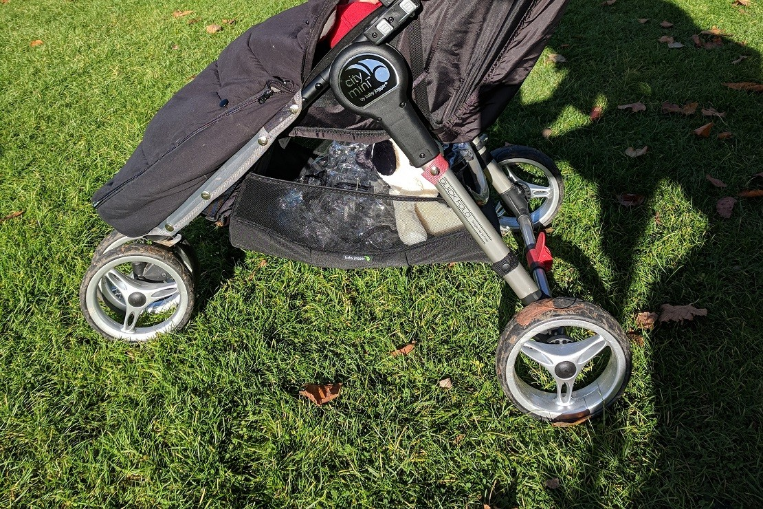 Baby Jogger City Mini is a three-wheeler