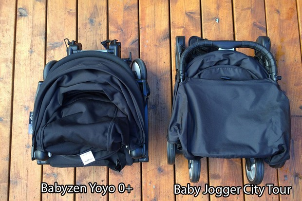 Baby Jogger City Tour compared to Babyzen Yoyo stroller