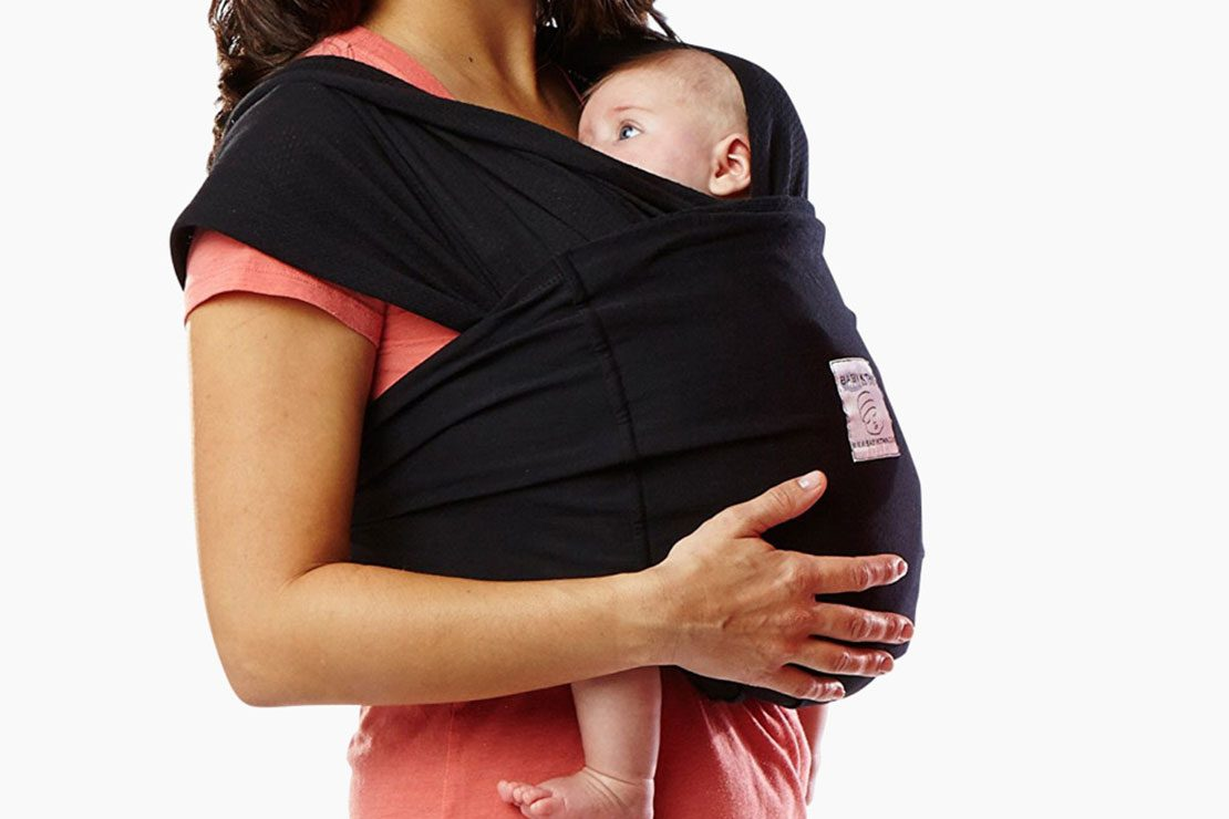 Small, Dandelion Cotton Baby KTan Baby Carrier