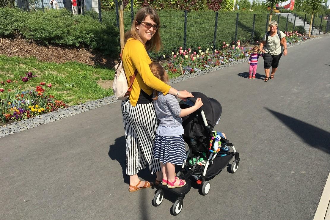 Babyzen Yoyo buggy board is for an older child