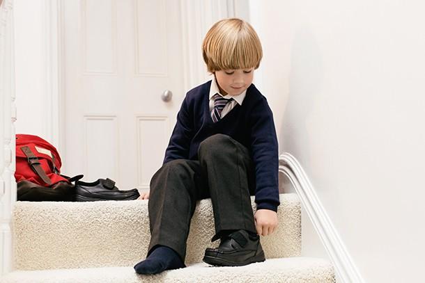 uniform kid