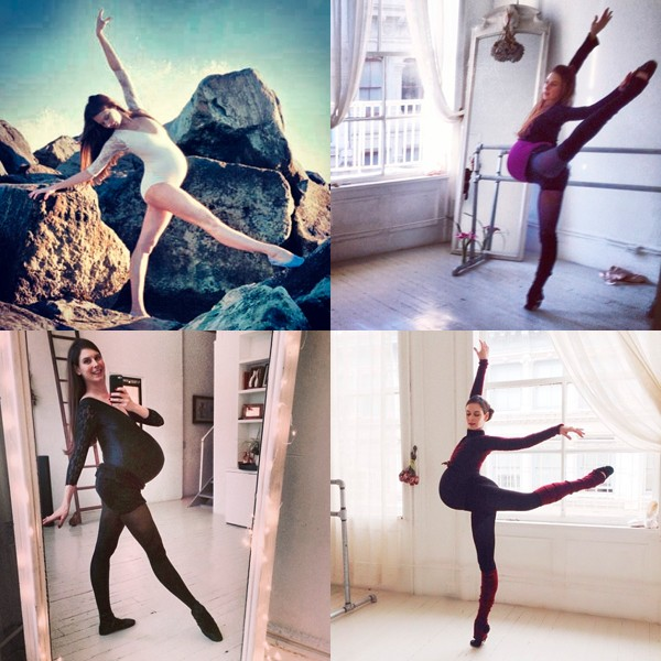 Mum-to-be ballet dancer Mary Helen Bowers pirouettes through