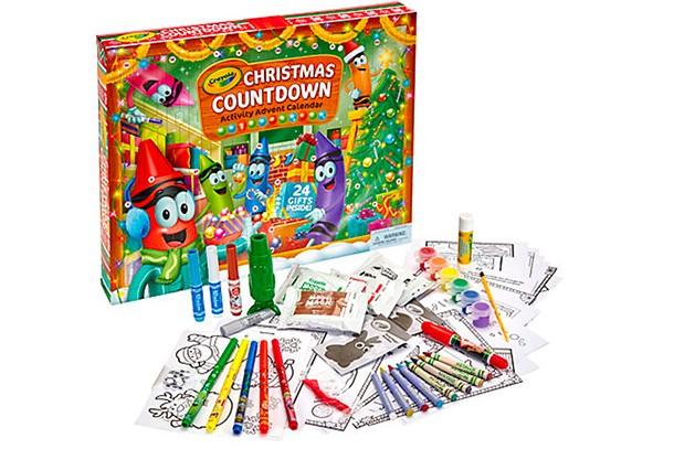 crayola advent calendar 2017