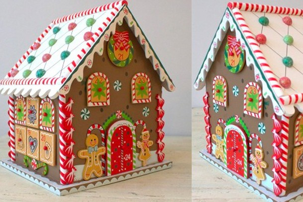 gingerbread avent house