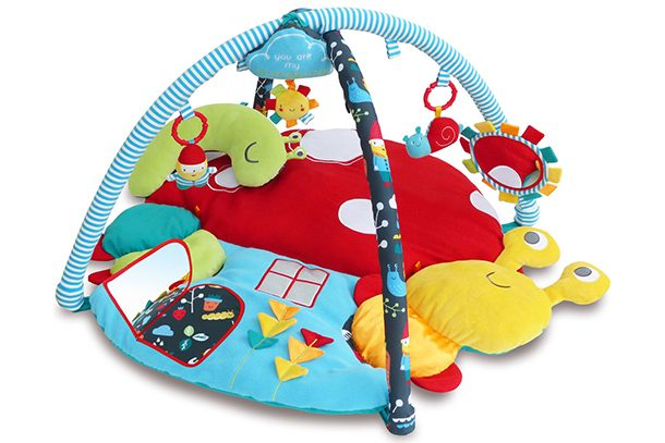 Toys & Activities 2019 Latest Design Baby Gym Activity Centre 2 In 1 Baby Play Mat Musical Adjustable Arches 0 Month+
