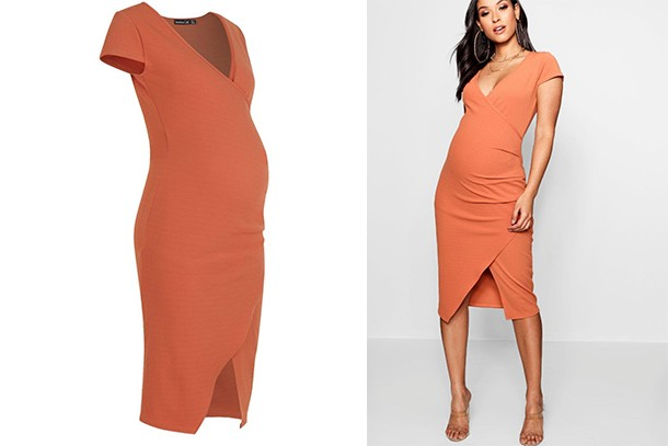 021f952810a9e Where to buy the best maternity bodycon dresses UK 2018 - MadeForMums