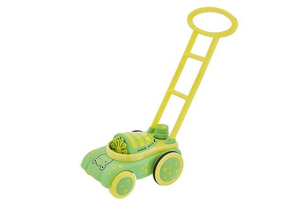 frog lawnmower