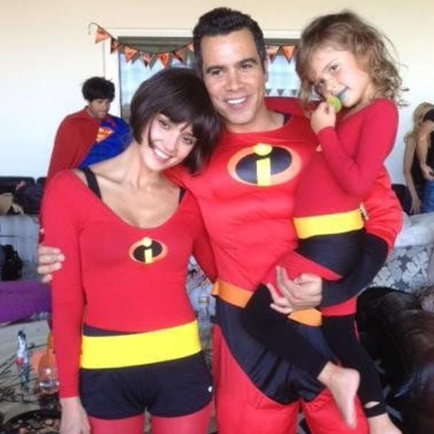 jessica alba celeb family halloween costumes