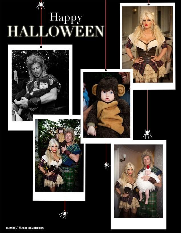 jessica simpson halloween