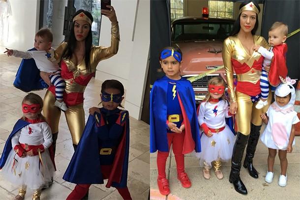 kourtney k superhero costumes