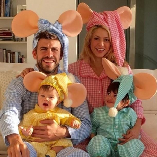 shakira family halloween costume