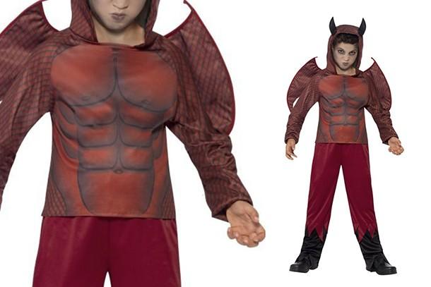 kids devil halloween costume