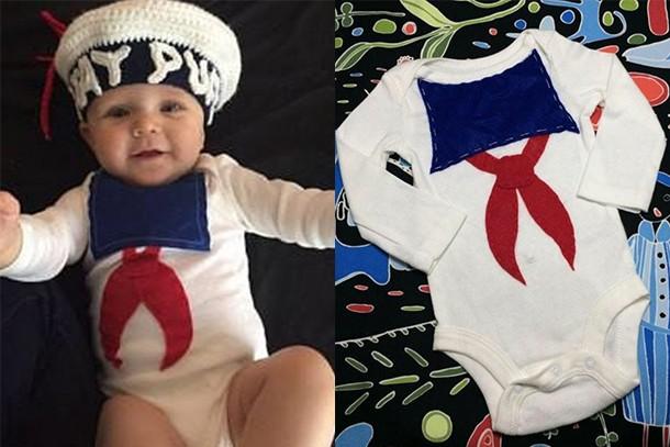 marshmallow man baby costume