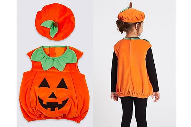 m&s pumpkin costume
