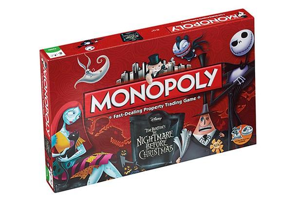 nightmare before xmas monopoly