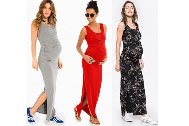 73ae0f75e2492 Envie De Fraise ASSIA Tank Maternity Maxi Dress, £31.19