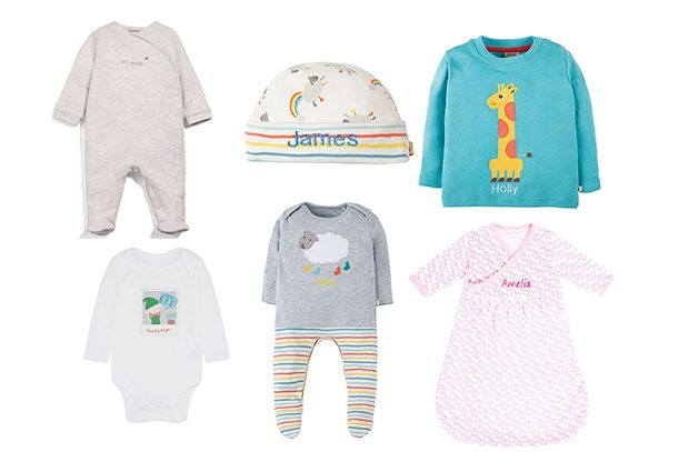 Happy Birthday Mummy Personalised Mothercare BabyGrow 100/% Cotton Boys Girls