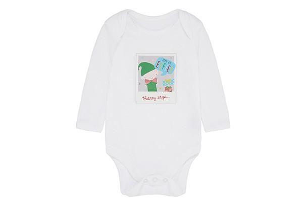 mothercare elfie onesie