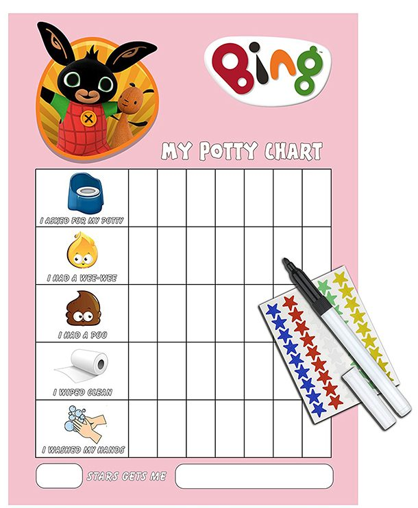 graphic relating to Printable Potty Training Sticker Chart known as 10 of the great potty performing exercises sticker charts - MadeForMums