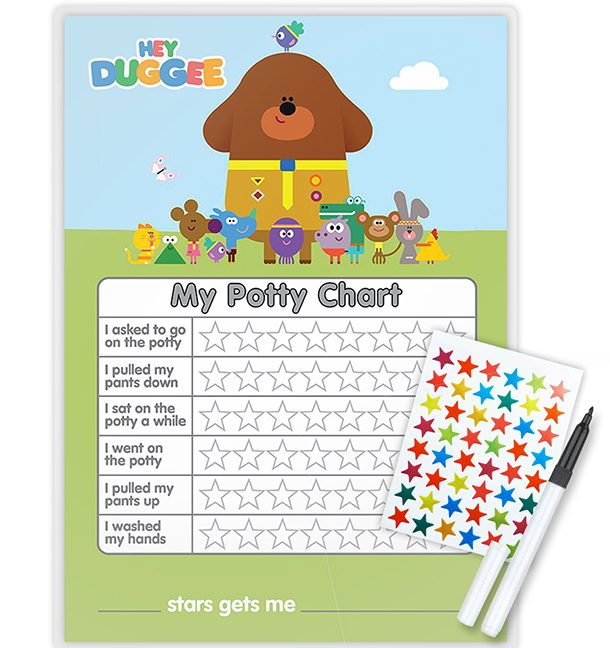 photograph relating to Printable Potty Training Sticker Chart titled 10 of the simplest potty doing exercises sticker charts - MadeForMums