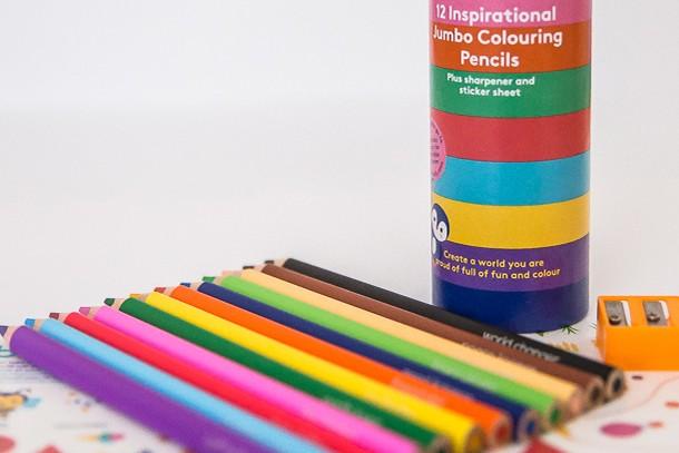 stib colouring pencils