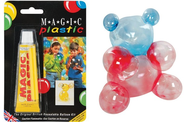 magic plastic balloons