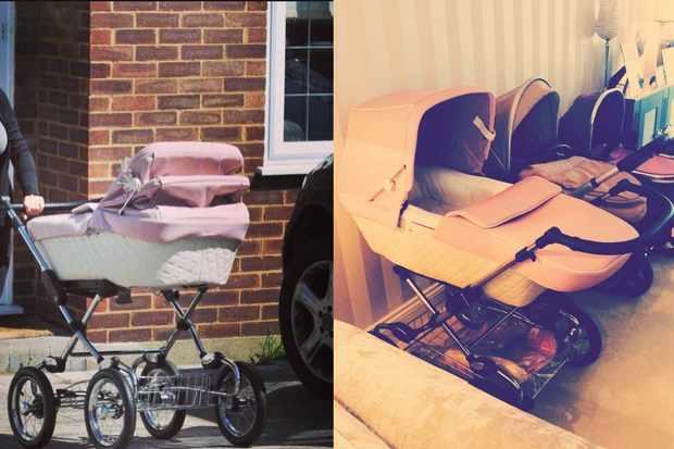 billie-faiers-road-tests-her-pink-silver-cross-pram_54063