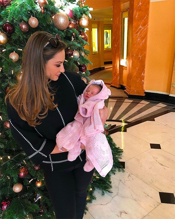 sam faiers baby rosie 5 months