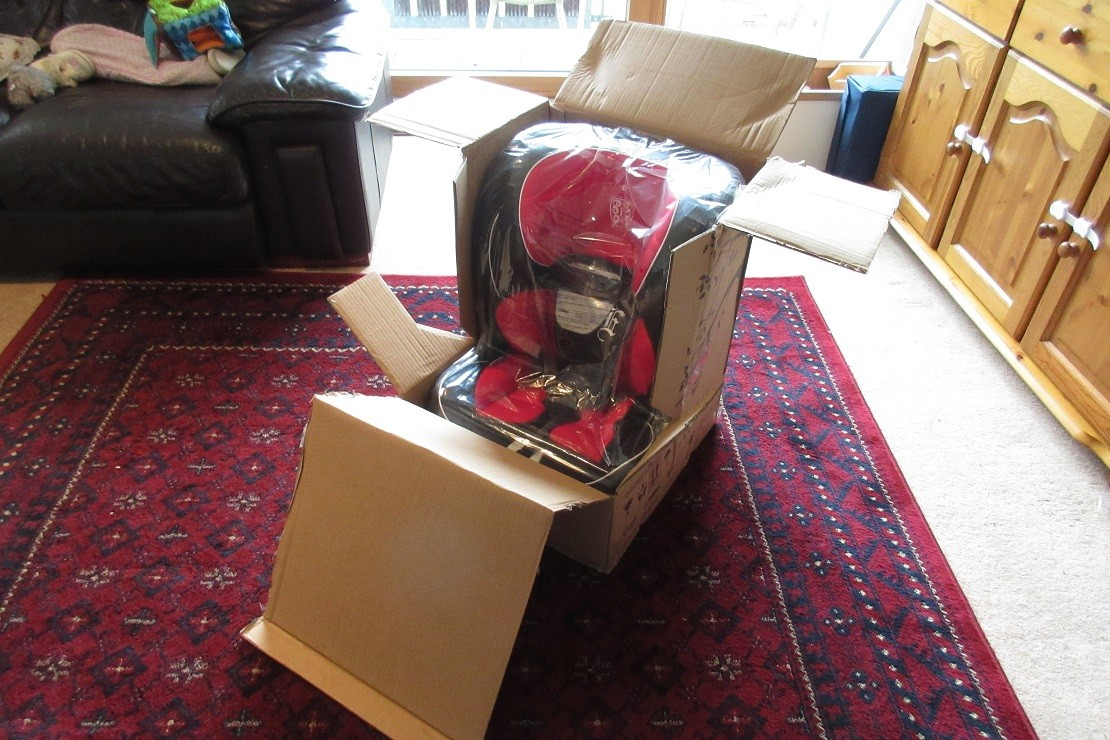 Cozy N Safe Excalibur in box