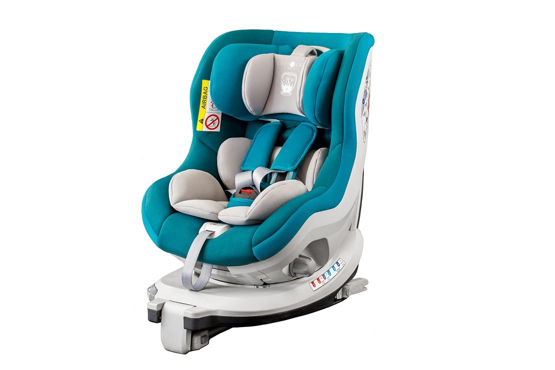 Cozy N Safe Merlin Baby Kids Child Group 0+//1 Car Seat Blue
